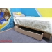 Кровать Юна-109 Дуб молочный 800х2000
