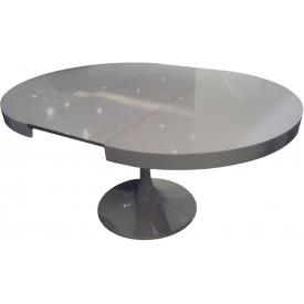 Стол Tulpan grey (1000х1000+300х810)