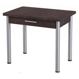 Стол М-20 раскладной с ящиком, венге 750х600/1200х900