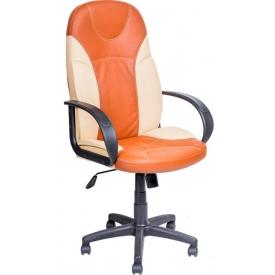 Кресло AV-132 оранжевый/бежевый
