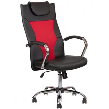 Кресло AV-134 Красный/черный
