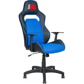 Кресло AV-140 Синий/черный