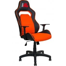 Кресло AV-140 Оранжевый/черный