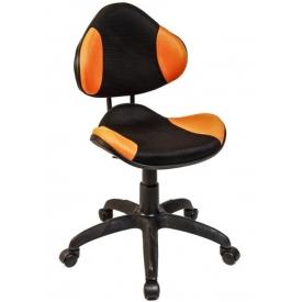 Кресло AV-215 оранжевый/черный
