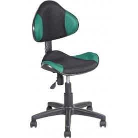 Кресло AV-215 зеленый/черный