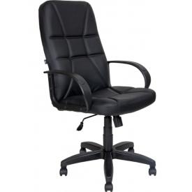 Кресло AV-114 черная экокожа