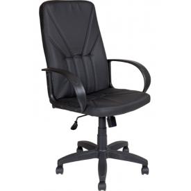 Кресло AV-101 черная экокожа