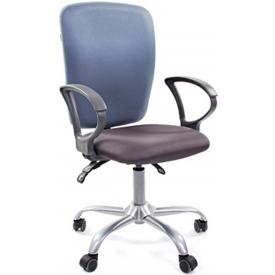 Кресло CH-9801 серый/серо-голубой