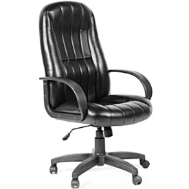 Кресло CH-685 экокожа черная