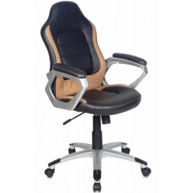 Кресло CH-825S Black+Bg
