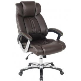 Кресло H-8766L-1 коричневый