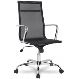 Кресло H-966F-1 черный