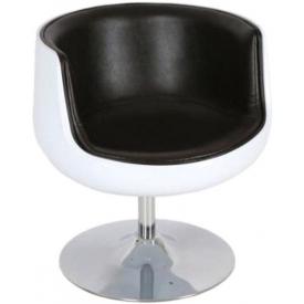 Кресло Mod-310 white-brown