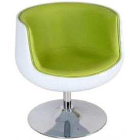 Кресло Mod-310 white-green