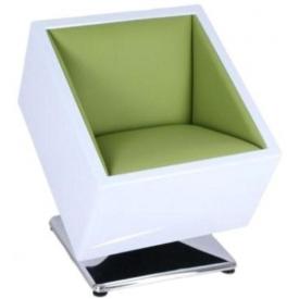 Кресло Mod-404 white-green
