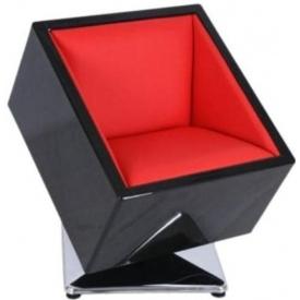 Кресло Mod-404 black-red