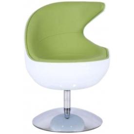 Кресло Mod-312 white-green