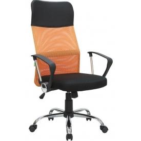 Кресло RCH 8074 оранжевый/черный