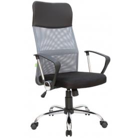 Кресло RCH 8074 серый/черный