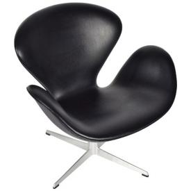 Кресло Swan Black