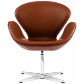 Кресло Swan Brown