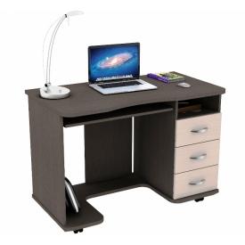 Стол КС 20-40 венге/дуб молочный (ВхШхГ)770х1100х600