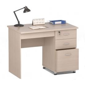 Стол ПС 40-03 дуб-молочный (ВхШхГ)770х1000х600