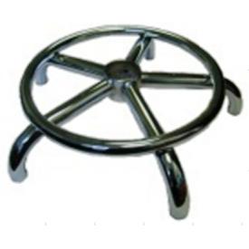 Крестовина хром с кольцом для ног 400мм.