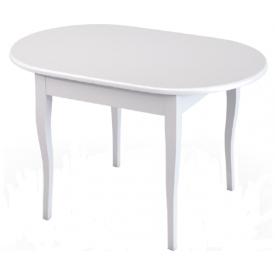 Стол Лемур белый/бежевый (750х1200/1500х800)