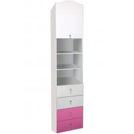 Шкаф одностворчатый Зефир (ВхШхГ)2200х500х520