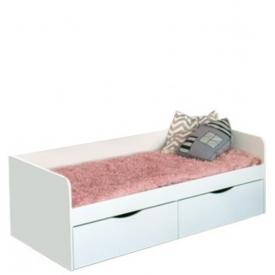 Кровать детская Зефир 2 ящика (ВхШхГ)600х1642х846