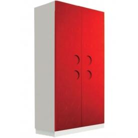 Шкаф Лего красный (ВхШхГ)1600х800х520