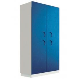 Шкаф Лего синий (ВхШхГ)1600х800х520
