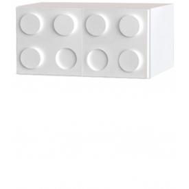 Антресоль Лего белый (ВхШхГ)400х500х520