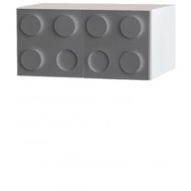 Антресоль Лего серый (ВхШхГ)400х500х520