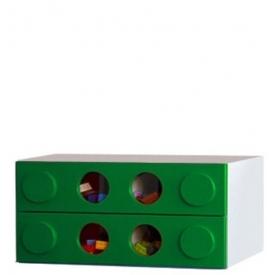 Комод малый Леголенд зеленый (ВхШхГ)400х800х520