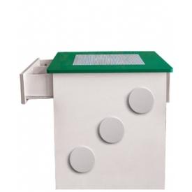 Стол игровой Лего зеленый (ВхШхГ)650х660х630