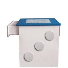 Стол игровой Лего синий (ВхШхГ)650х660х630