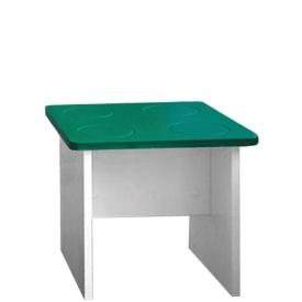 Табурет Леголенд зеленый (ВхШхГ)350х400х400