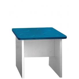 Табурет Леголенд синий (ВхШхГ)350х400х400