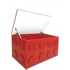 Ящик для игрушек Леголенд красный (ВхШхГ)435х830х465