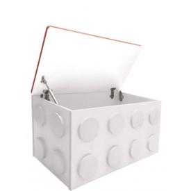 Ящик для игрушек Леголенд белый (ВхШхГ)435х830х465