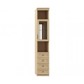 Шкаф-пенал Лира-105 (ВхШхГ)2242х399х420