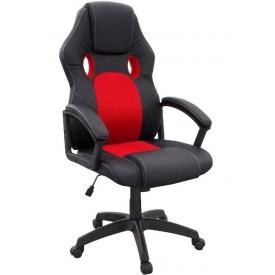 Кресло T-688 красный/черный