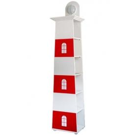 Стеллаж-светильник-маяк Тортуга (ВхШхГ)2350х500х350