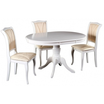 Комплект Стол DM-T4EX4 Olivia/Стул OP-SC