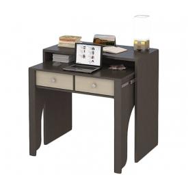 Стол-консоль ПС 40-10 (ВхШхГ)880х920х480 венге/дуб-молочный
