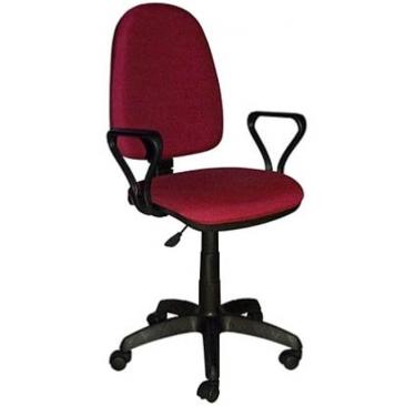 Кресло Престиж бордовый