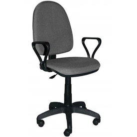 Кресло Престиж серый