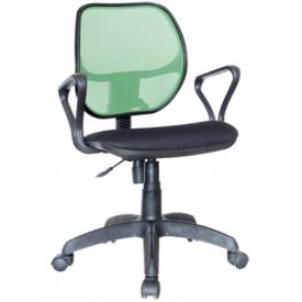 Кресло Марс Самба зеленый/черный